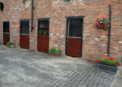 Brick built stables