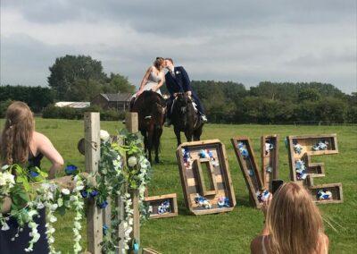 Summer wedding at Pennington's